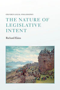 Review of The Nature of Legislative Intent by Timothy W. Grinsell
